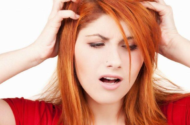 Повышенная чувствительность кожи головы