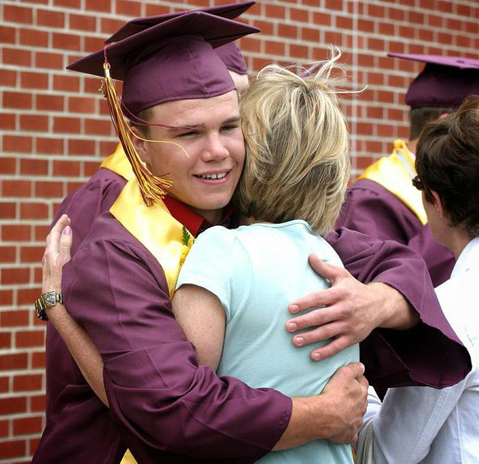 поздравление выпускникам от первого учителя на выпускном