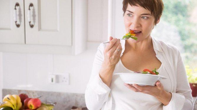 Правила питания женщины в 45 лет