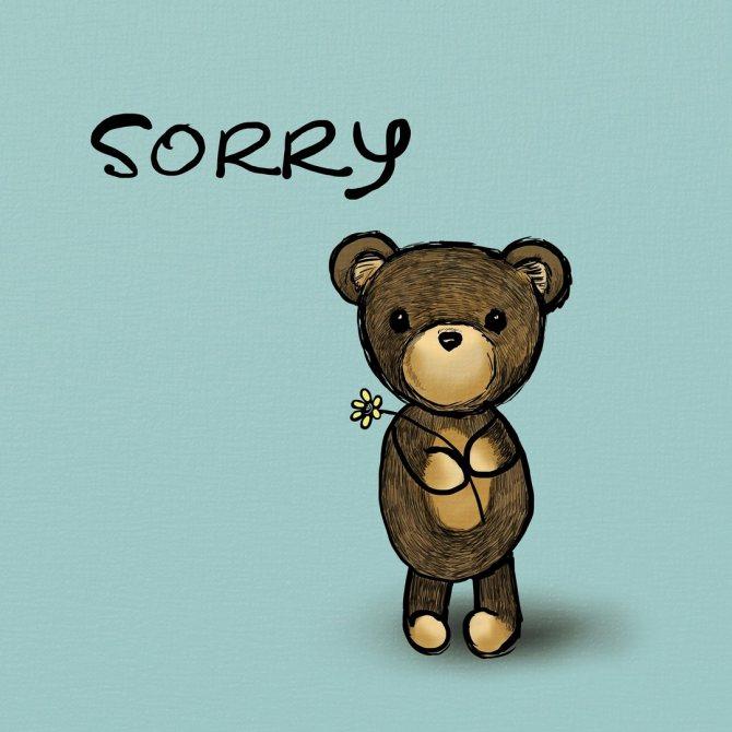 Правила правильного извинения перед парнем от А до Я