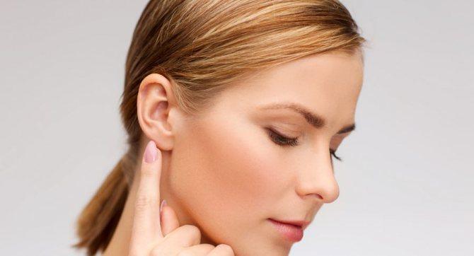 Правильная форма ушей