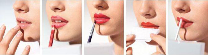 Правильно наносим матовую помаду на губы: полезные советы, технология и особенности