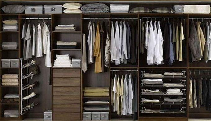 Правильно организованное пространство в шкафу - залог быстрой уборки