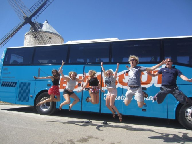 Правильное питание залог отличного настроения в автобусном туре