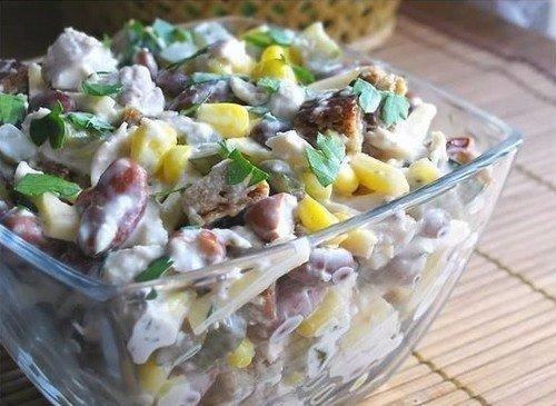 Праздничные салаты с куриным Филе: топ - 10 рецептов. 02