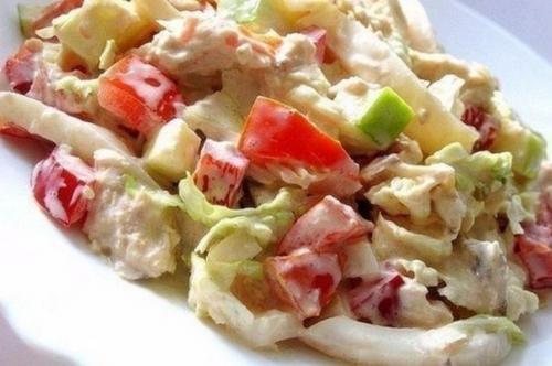 Праздничные салаты с куриным Филе: топ - 10 рецептов. 03