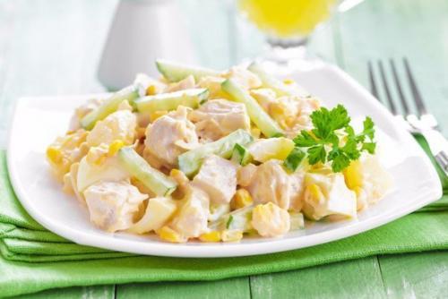 Праздничные салаты с куриным Филе: топ - 10 рецептов. 05