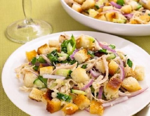 Праздничные салаты с куриным Филе: топ - 10 рецептов. 07
