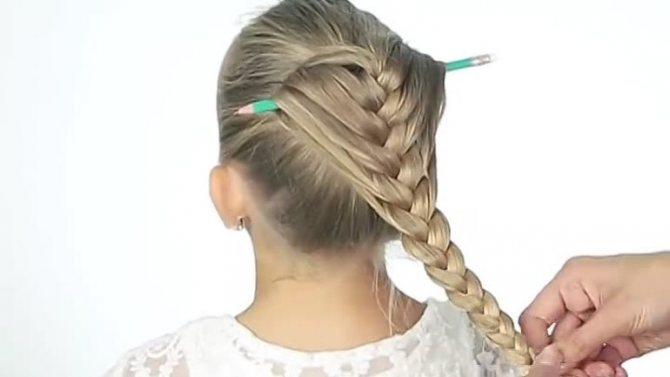 Преимущества плетения на карандаше