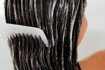 Препарат Эсвицин на волосах
