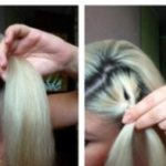 Причёска Роза пошагово