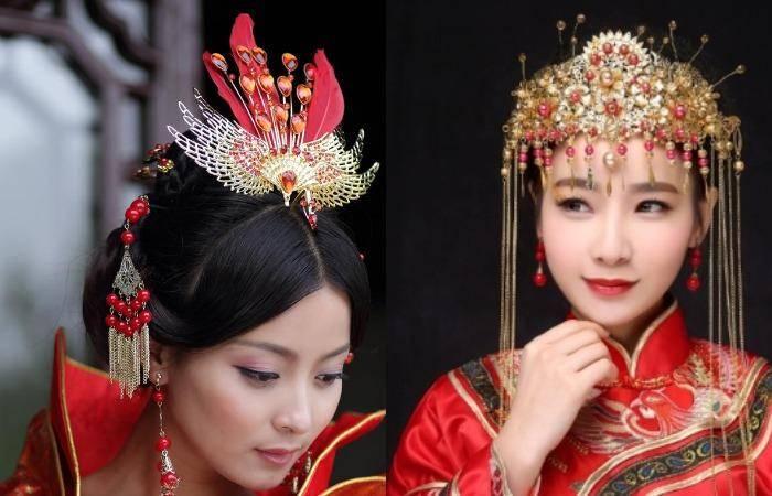 Прическа в китайском стиле