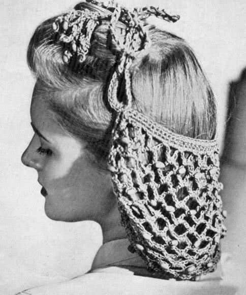 Причёски 40-х годов