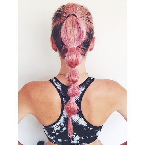 Прически для занятия спортом на длинные волосы. 12 причесок для занятий спортом