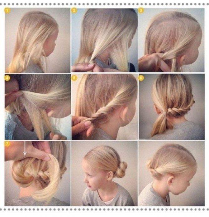 как сделать волосы на день рождения