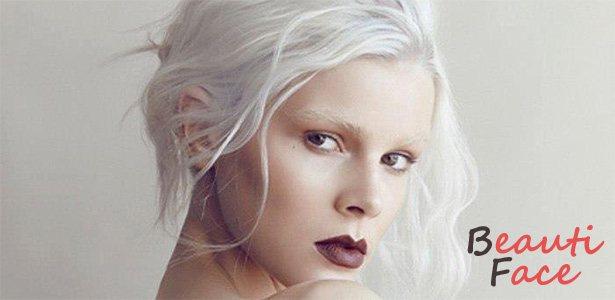 Причины белого цвета бровей