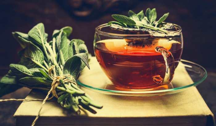 Приготовление чая из шалфея