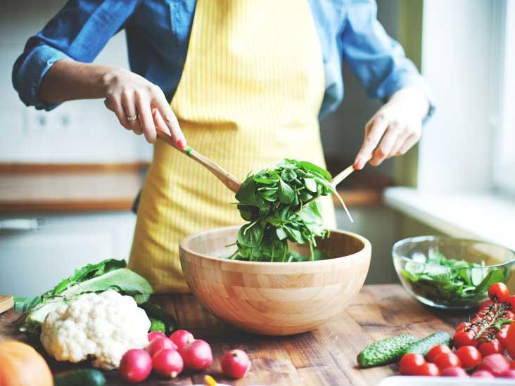 Приготовление полезной пищи