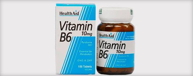 применение витамина В6 для укрепления волос