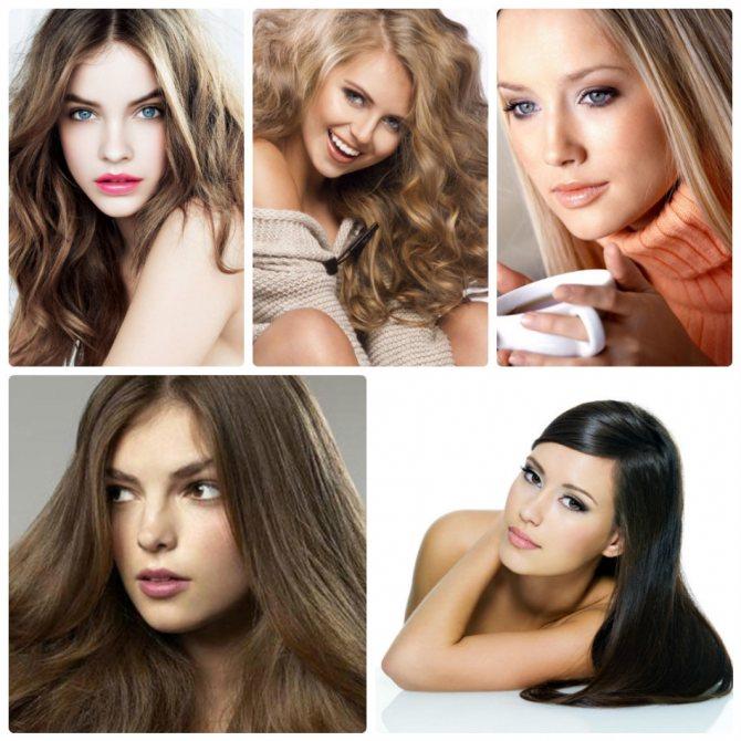 Примеры женщин летнего цветотипа
