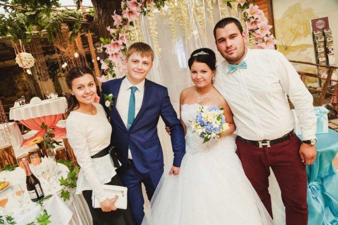 приметы про свидетелей на свадьбе