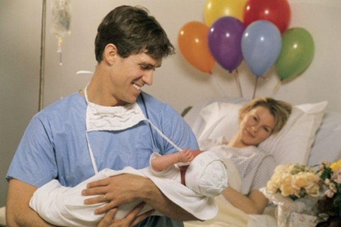 Принимать роды во сне для мужчины
