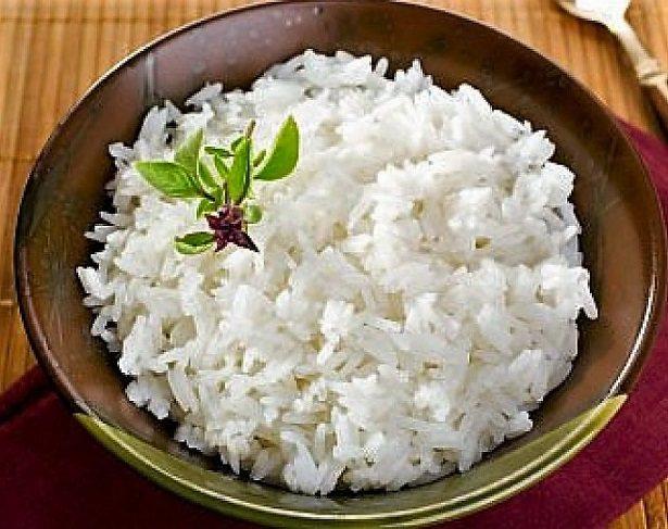 припущенный рис