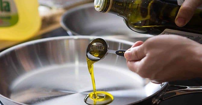 Процесс жарки на рафинированном масле
