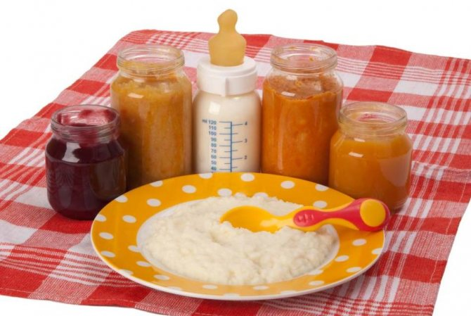 Продукты детского питания
