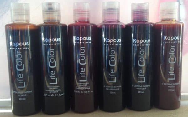 Профессиональные оттеночные шампуни для волос