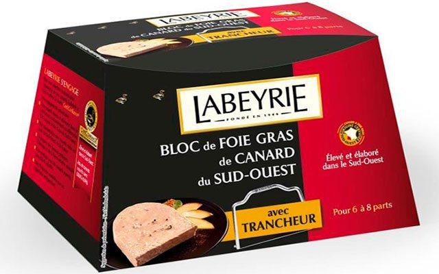Производитель фуа-гра Labeyrie