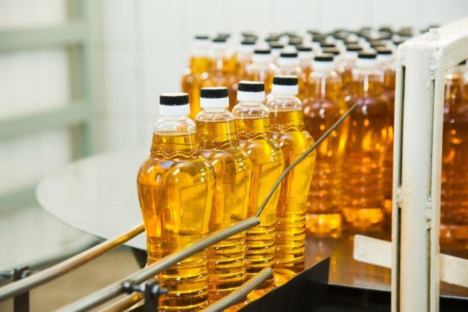 Производство горчичного масла на заводе