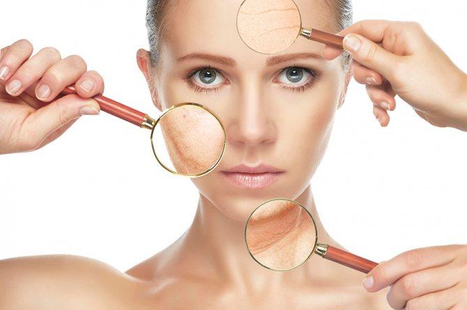 Проникновение косметики в кожу
