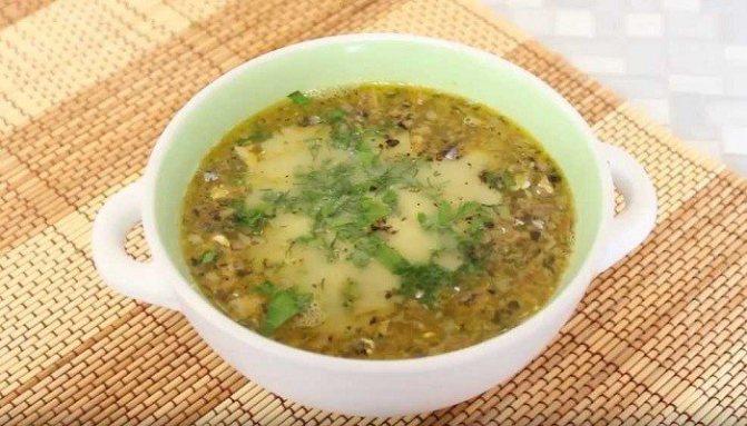 Простой рецепт рыбного супа из консервированной сайры