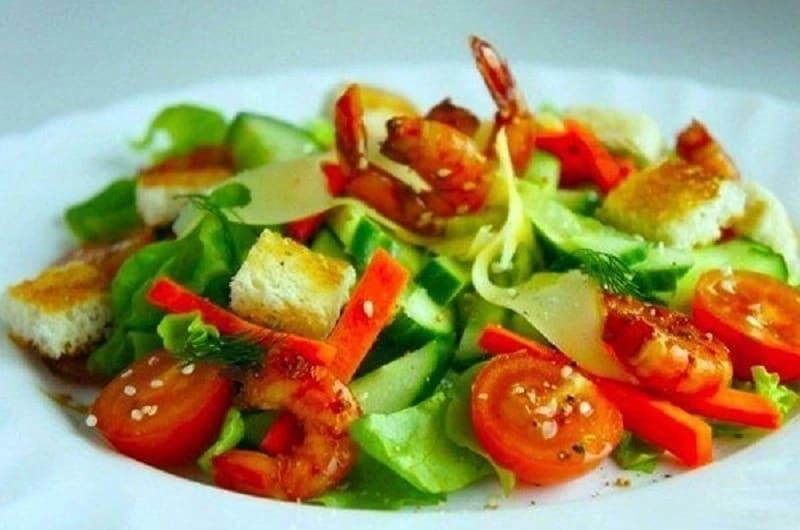 Простые и очень вкусные салаты без майонеза
