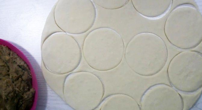 простые пирожки на кефире