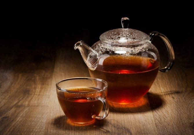 противопоказания к чаю