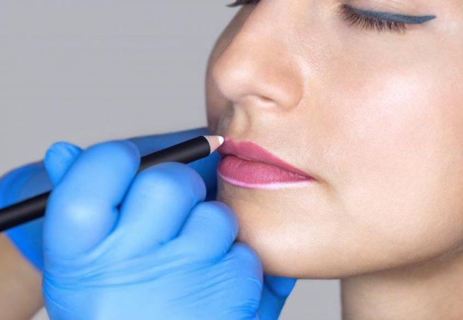 противопоказания к перманентному макияжу губ