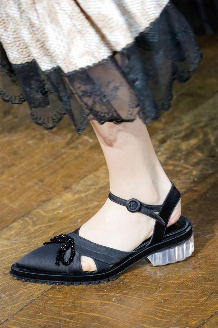 Прозрачные каблуки (Simone Rocha)