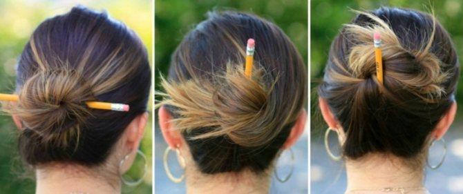 Пучок вс карандашом