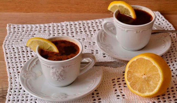 Пьют ли кофе с лимоном?
