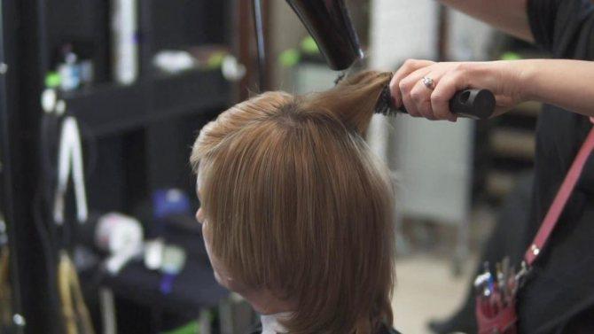 расческа фен для укладки волос babyliss