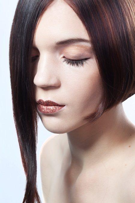 Растяжка цвета на волосах разной длины