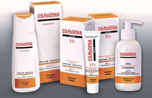 разновидности аптечного средства Сульсена