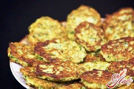 разные рецепты кабачковых оладьев