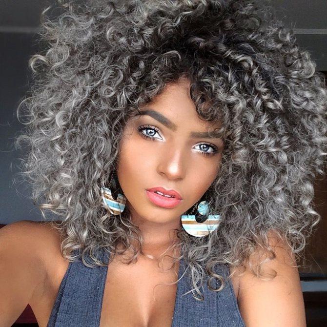 Реакция волос на краску