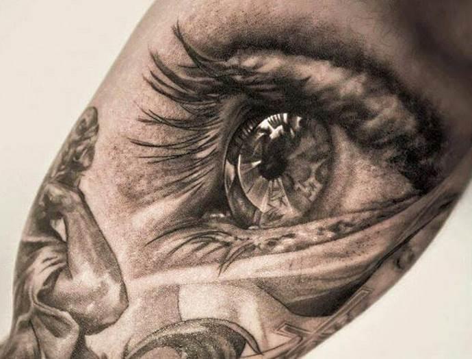реалистичное изображение глаза