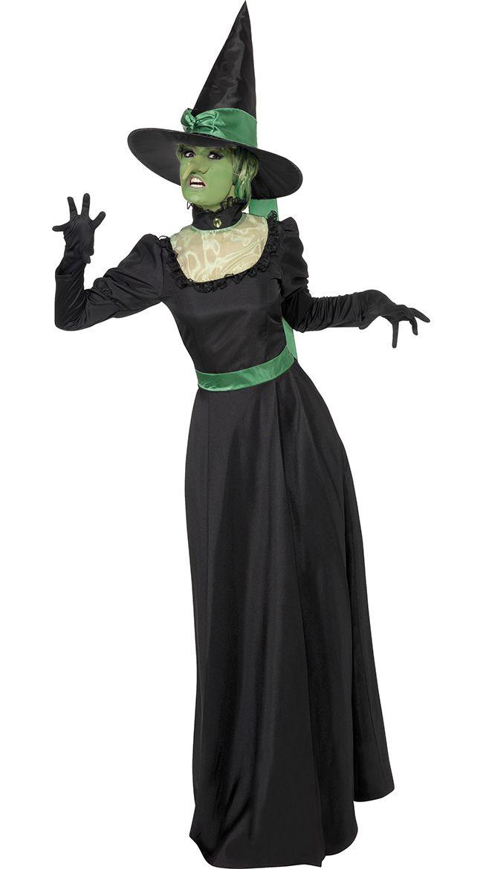 Реалистичный образ Ведьмы к Хэллоуины