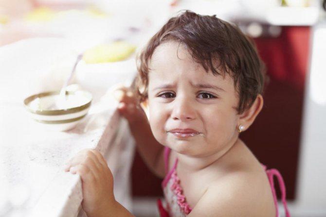 Ребенок не любит чеснок
