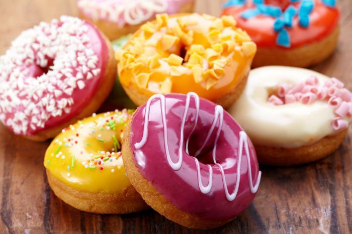 рецепт американских пончиков с глазурью
